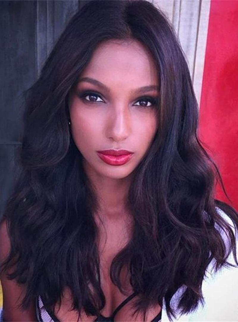 afe95eef86 jasmine tookes brown hair JASMINE TOOKES INSPIRED WAVY INDIAN VIRGIN WAVY  HUMAN HAIR 6 .